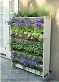 Living Wall Garden Vertical Hanging Planter Herbs Flowers Tomatoes Space Saving - ShopMonkeez  - 1