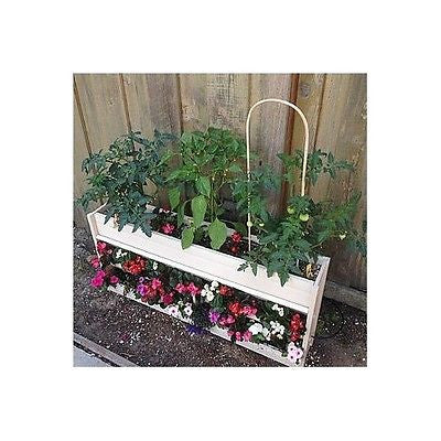Living Wall Garden Vertical Hanging Planter Herbs Flowers Tomatoes Space Saving - ShopMonkeez  - 4