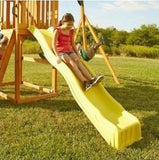 Slide For Swingset Playground Swing Outdoor Kids Backyard Playset Fort Gym - ShopMonkeez  - 1