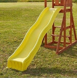 Slide For Swingset Playground Swing Outdoor Kids Backyard Playset Fort Gym - ShopMonkeez  - 2