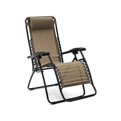 Reclining Lounge Chair Patio Pool Beach Yard Recliner Chaise Lounger Fast Drying - ShopMonkeez  - 12