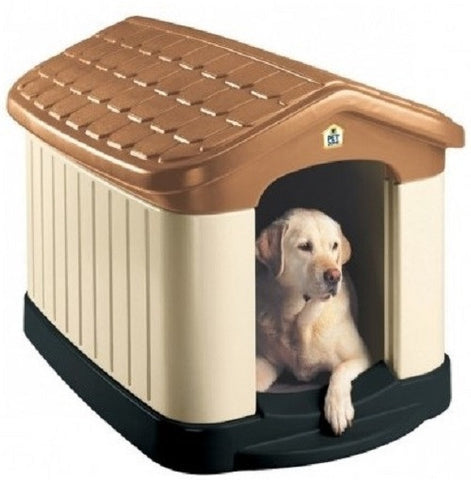 Insulated Dog House Large All Weather Shelter - ShopMonkeez  - 1