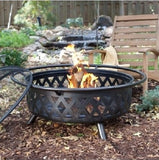 Campfire Fire Pit Bronze with Free Outdoor Cover - ShopMonkeez  - 1