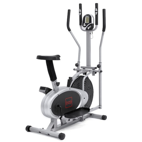 Elliptical Bike Cardio Exercise Fitness Machine