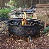 Campfire Fire Pit Bronze with Free Outdoor Cover - ShopMonkeez  - 4