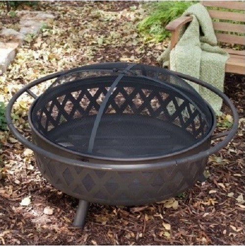 Campfire Fire Pit Bronze with Free Outdoor Cover – ShopMonkeez