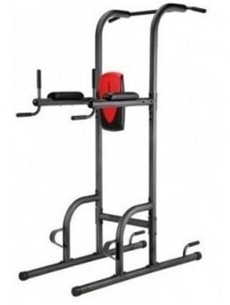 Tower Power Up Pull Station Gym Dip Bar Exercise Workout Home Push Chin Fitness Stand Knee Raise - ShopMonkeez  - 1