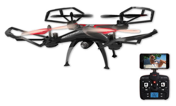 Drone Quadcopter with WiFi Action Camera