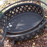 Campfire Fire Pit Bronze with Free Outdoor Cover - ShopMonkeez  - 3