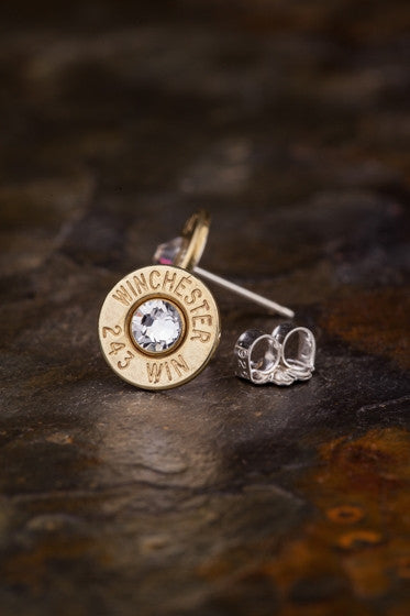 243 Bullet Head Stud Earrings