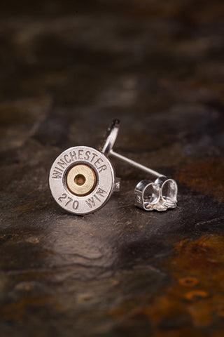 270 Bullet Head Stud Earrings