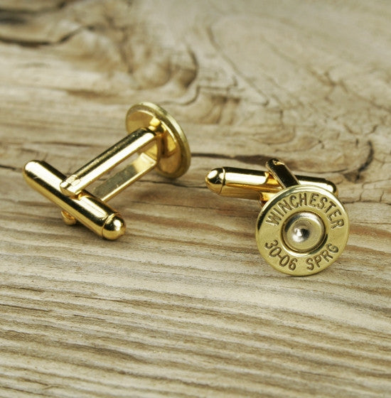 Winchester 30-06 Bullet Cuff Links