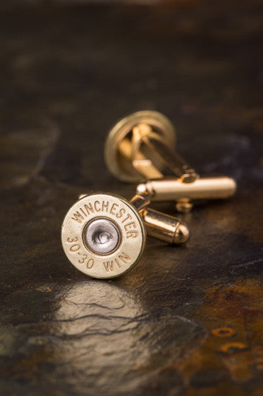 Winchester 30-30 Bullet Cuff Links