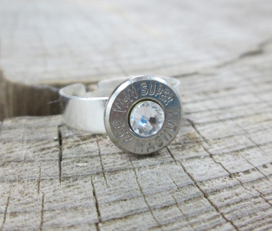 357 Magnum Recycled Bullet Ring