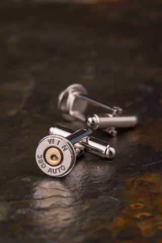 Winchester 380 Auto Thin Bullet Cuff Links