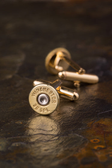 Winchester 38 Special Bullet Cuff Links