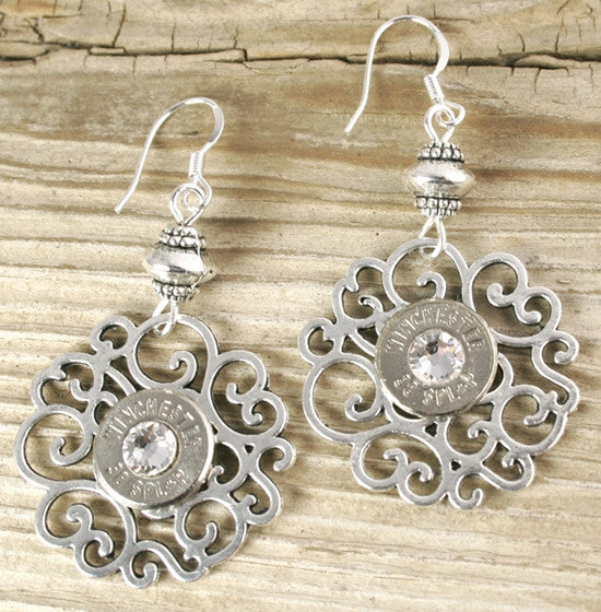 38 Special Dainty Nickel Flowery Earrings