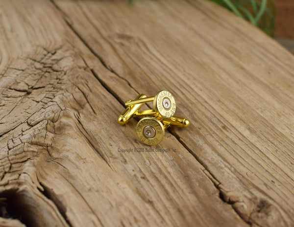 Winchester 40 Caliber Bullet Cuff Links