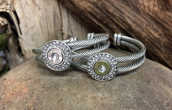 40 Caliber Fire and Ice Bullet Bracelet Adjustable