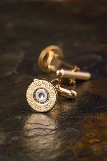 Winchester 7mm-08 Bullet Cuff Links
