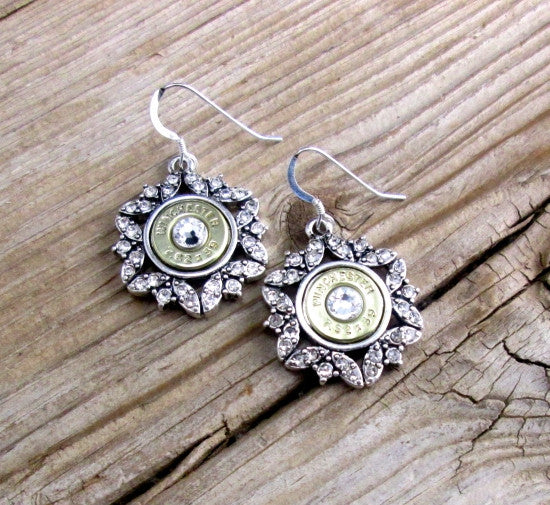 AK-47 Snowflake Earrings
