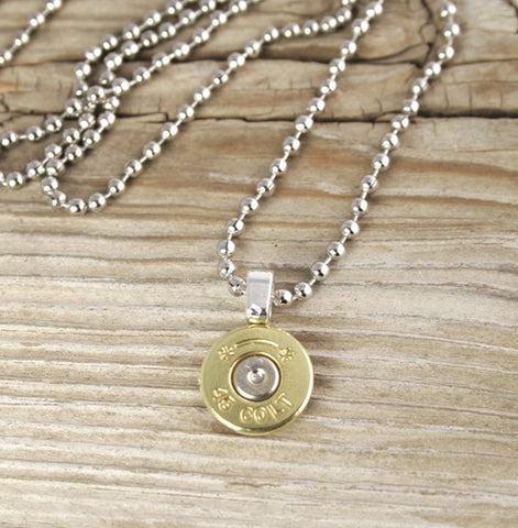 Bullet Head Necklace for Men