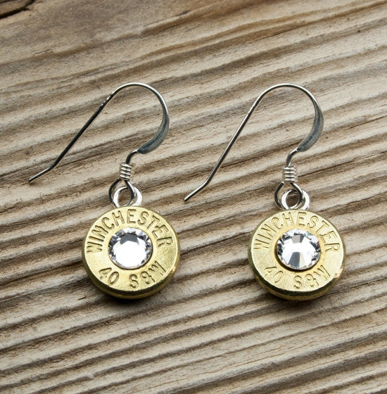 Simply Dangle Bullet Earrings