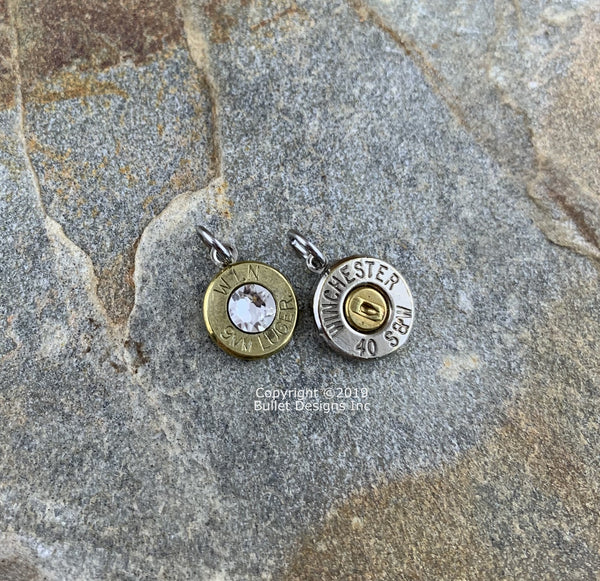 Custom Bullet Charms, DIY Bullet Jewelry, Bracelet, Necklace Charm, Earrings