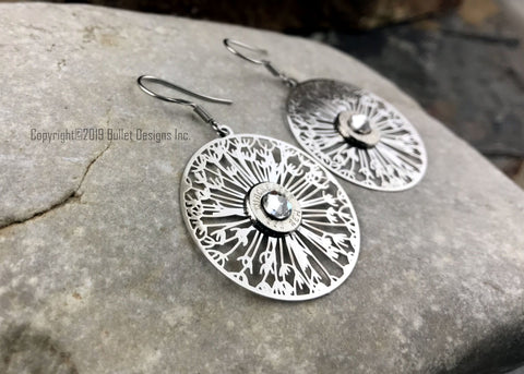 Dandelion Bullet Earrings - 223, AR15