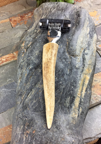Deer Antler Razor - Mach 3 or Fusion NEXT AVAILABLE SHIPPING DATE FOR THIS ITEM WEEK OF 1/21