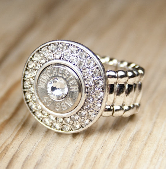 40 Caliber Fire & Ice Bullet Ring