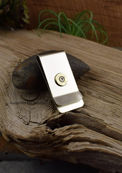357 Mag Brass Bullet Money Clip
