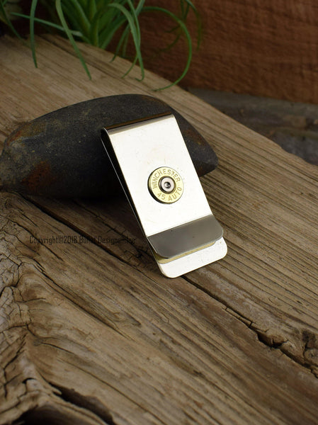 45 Auto Bullet Money Clip