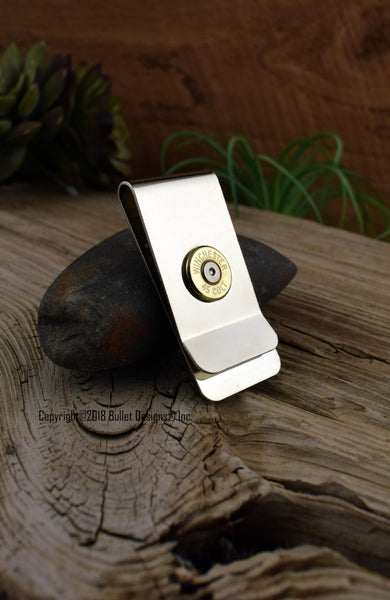 45 Colt Brass Bullet Money Clip