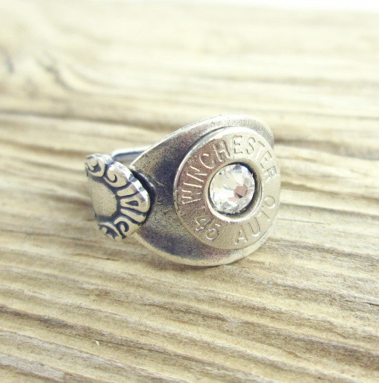 Bullet Spoon Ring