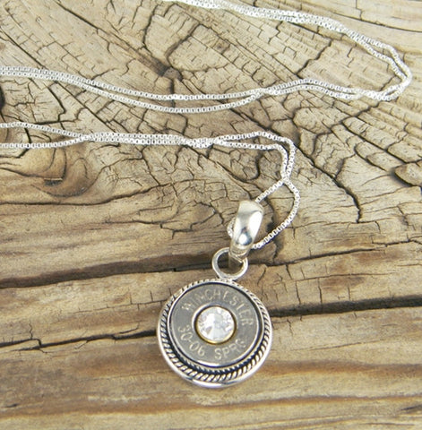 Nickel Sterling Silver Rope Necklace