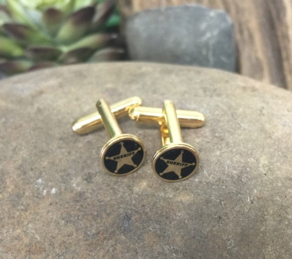 Sheriff Cufflinks