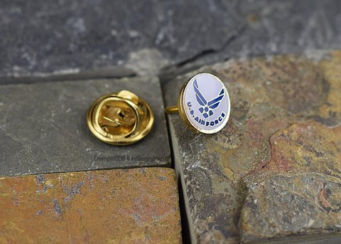 US Air Force Tie Tac Hat Pin, Airforce, Military Tie Tack
