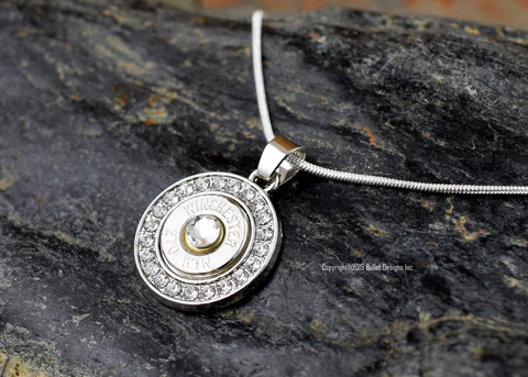 Bullet Necklace, Fire & Ice Bullet Necklace,  30-06, 308, 270, 243, 7mm-08, 6.5 Creedmoor, 22-250, Fire and Ice, Custom Necklace,