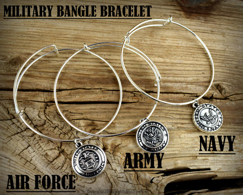 Military Bracelet, Army, Navy, Air Force