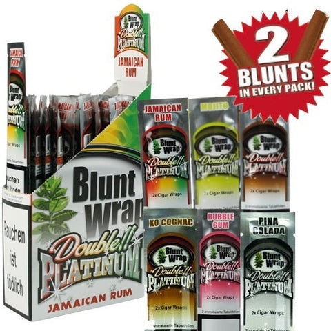 Blunt Wrap Double Platinum Cigar Wrap