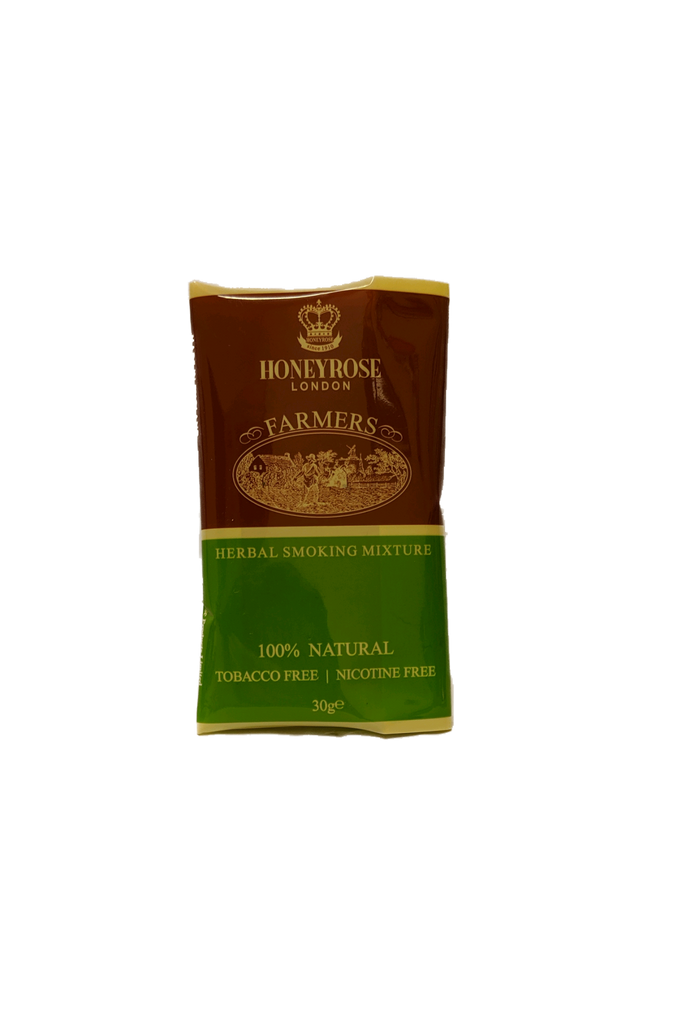 Honeyrose Farmers Herbal Smoking Blend 30g Pouch
