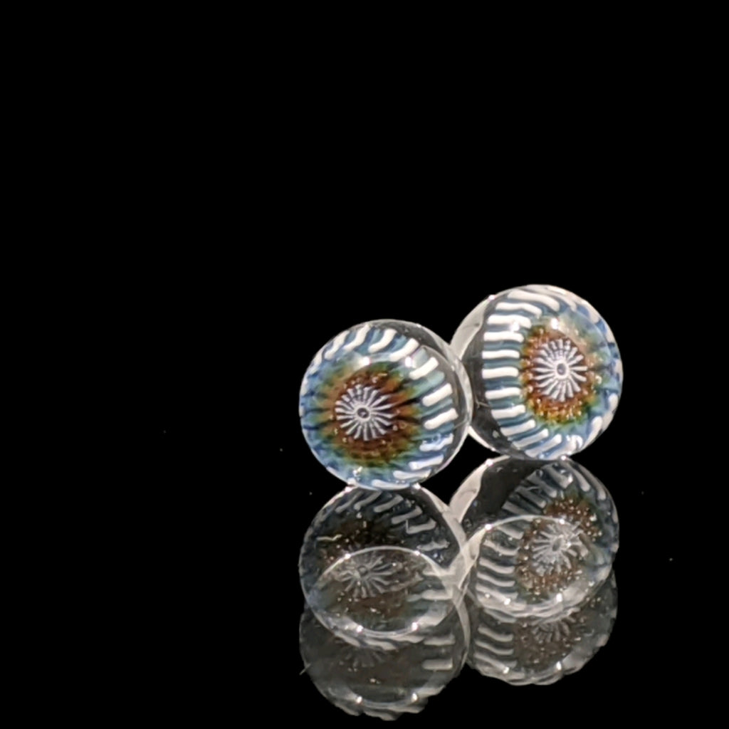 Steve H Detailed Terp Pearls 6mm Matching Pair