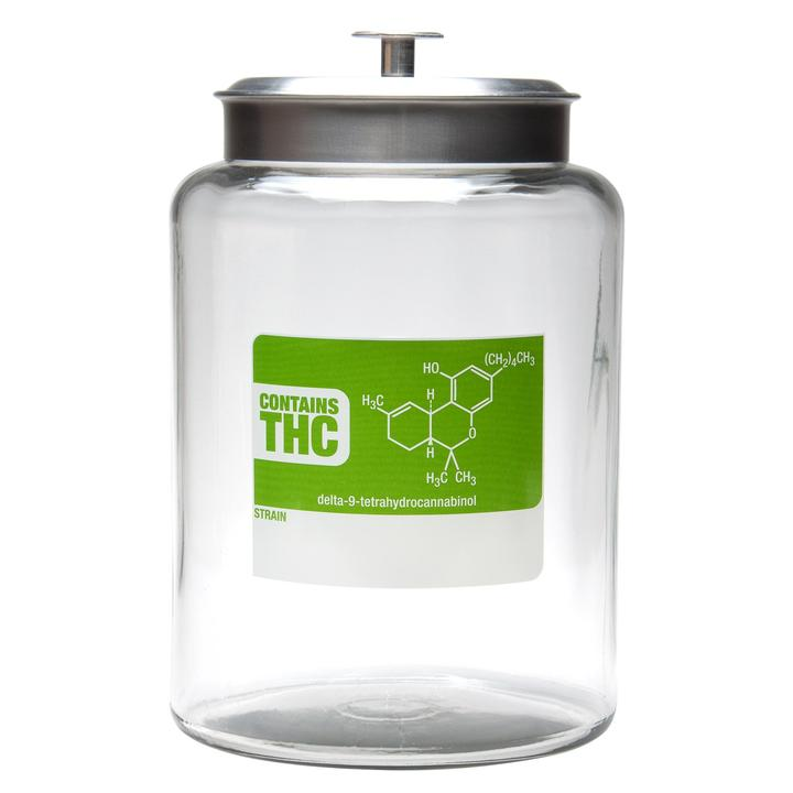 2.5 Gallon Airtight Jar- Write & Erase with a Sharpie