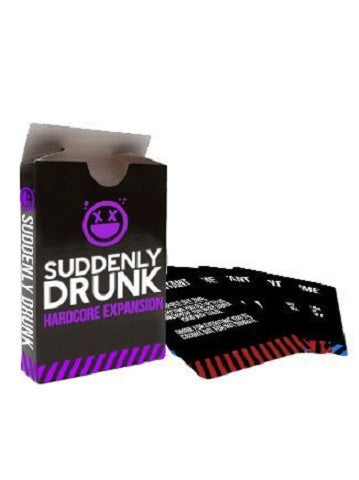 Suddenly Drunk Hardcore Expansion Card/Drinking Game