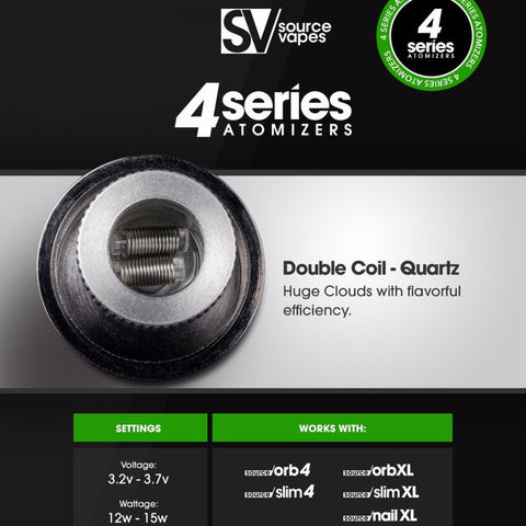 Source 4 Series Atomizers