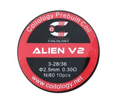 Coilology Ni80 Alien V2 Coil 10 pieces