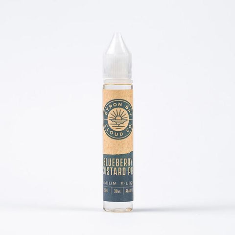 Byron Bay Cloud Co. Blueberry Custard Pie Ejuice 30ml 0%