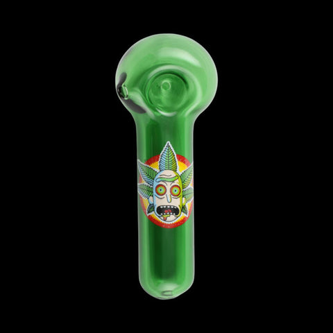 Chameleon Glass Canna Crown Rick Pipe