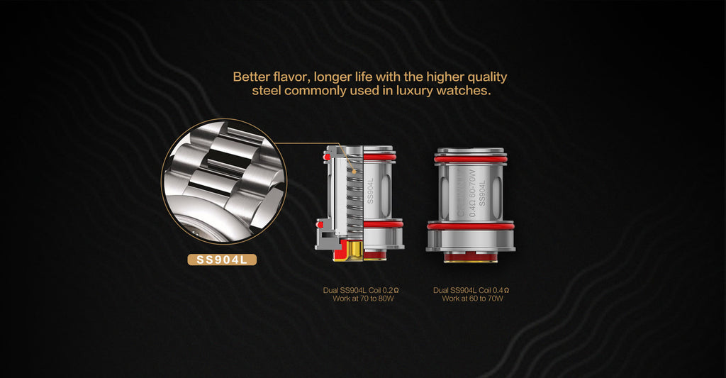 Uwell Crown IV Replacement Coils 4pcs per pack